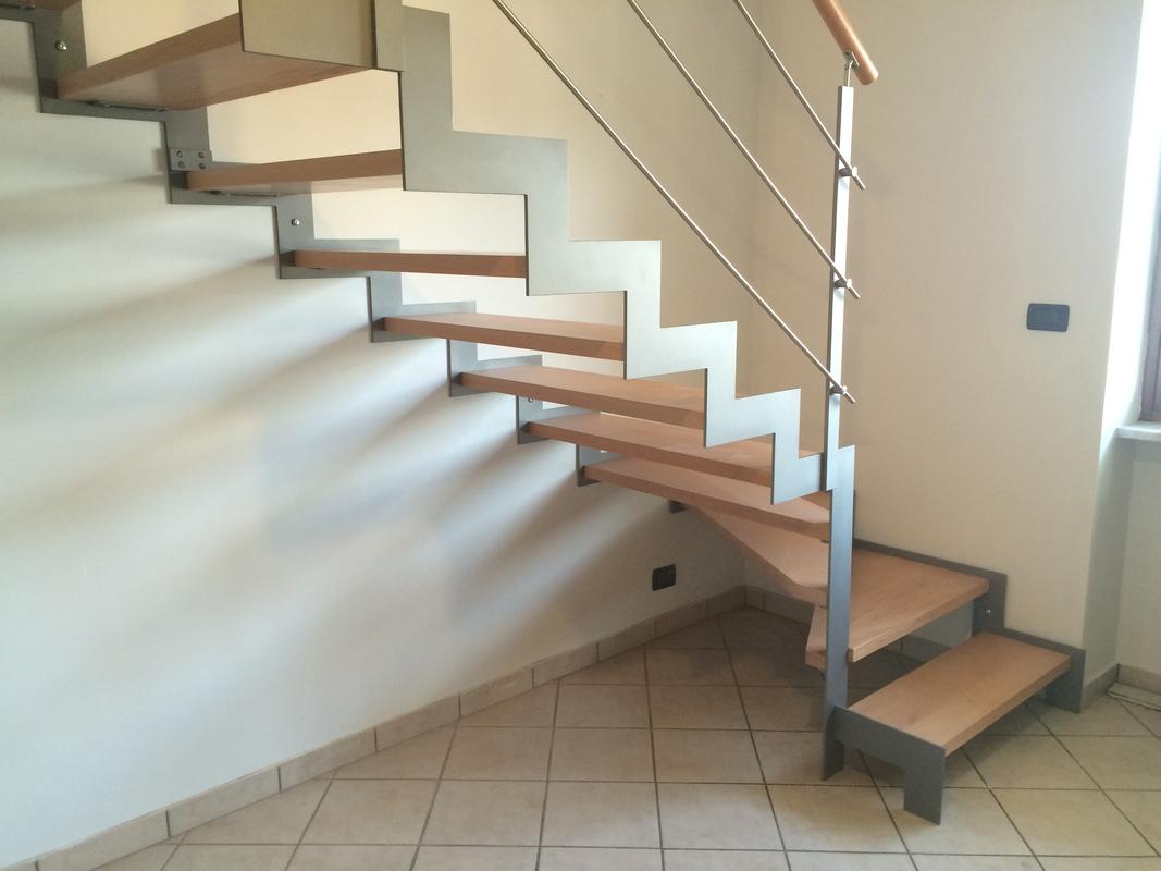 Doppialama laterale valmax legno scale interne a giorno scale esterne e scale in kit di - Costruzione scale interne ...